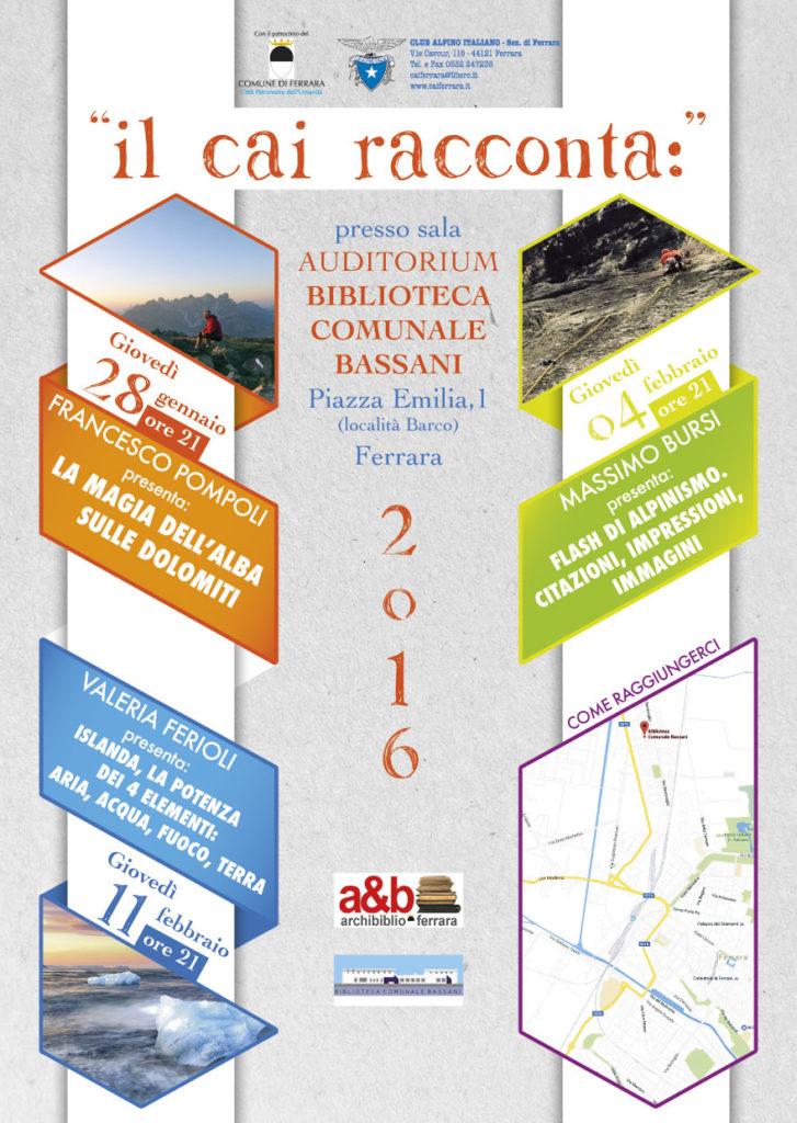 CAI-FERRARA_il-cai-racconta_2016_locandina