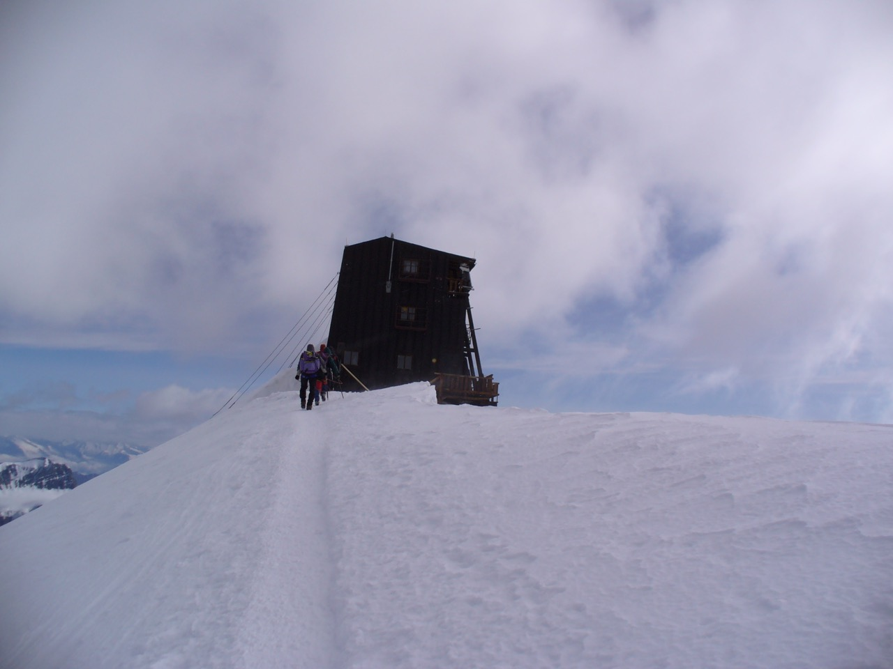 Venerdì 14 e sabato 15 luglio: Punta Gnifetti – Rif. Regina Margherita, Piramide Vincent e sentiero Walser