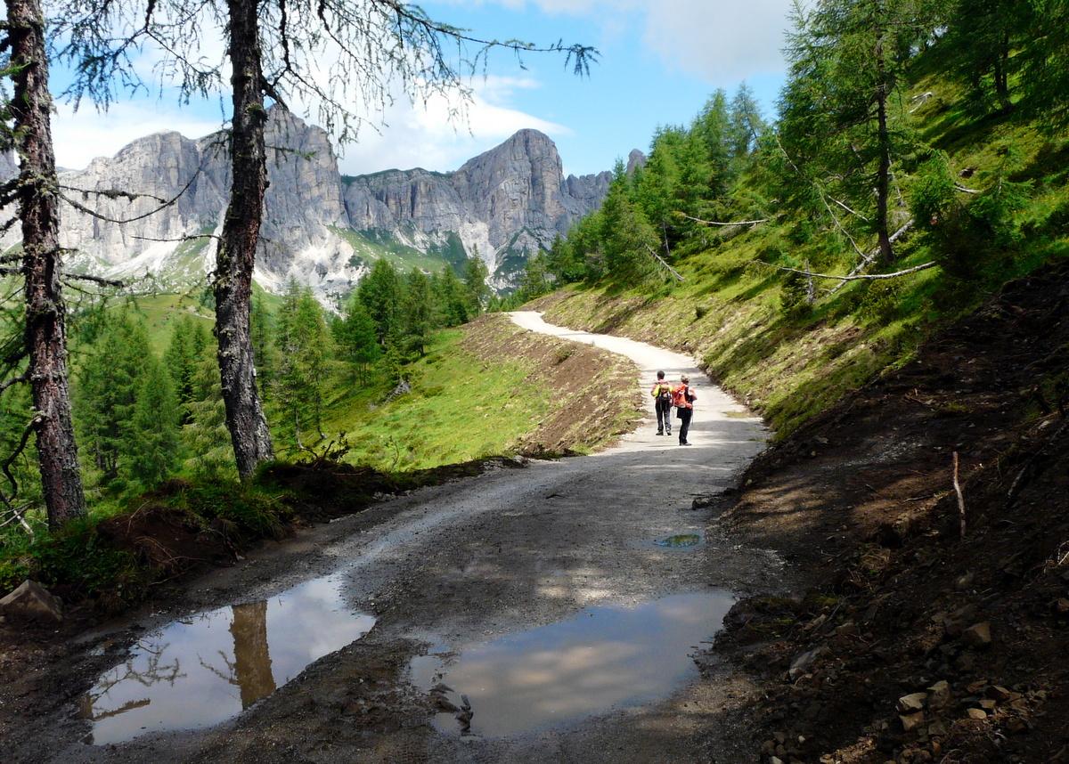 Giovedì 13 settembre – Val Fiorentina – Dal Rif. Fiume, verso Mondeval