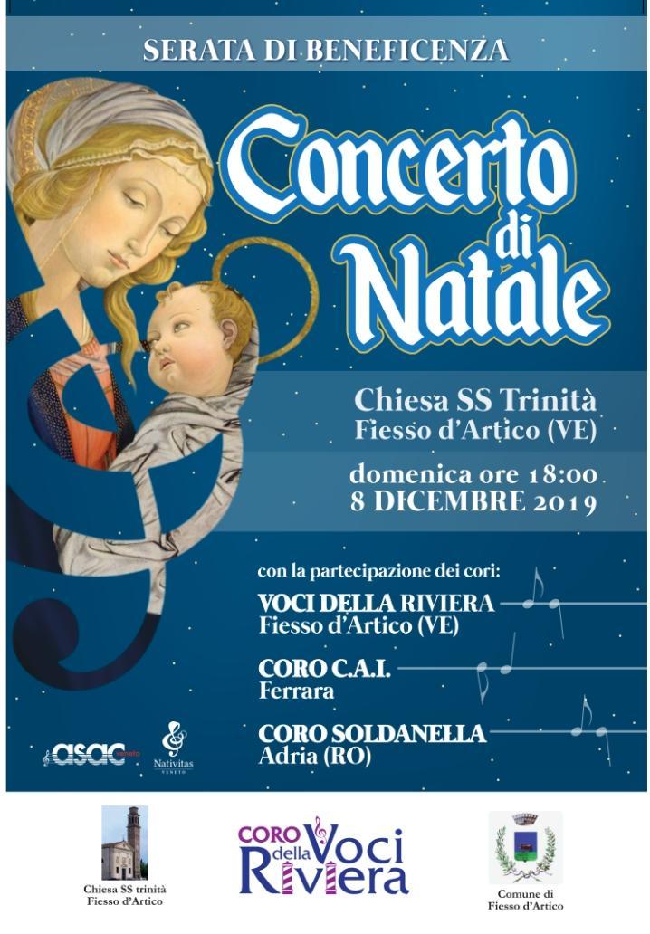 Sabato 8 Dicembre – Concerto di Natale