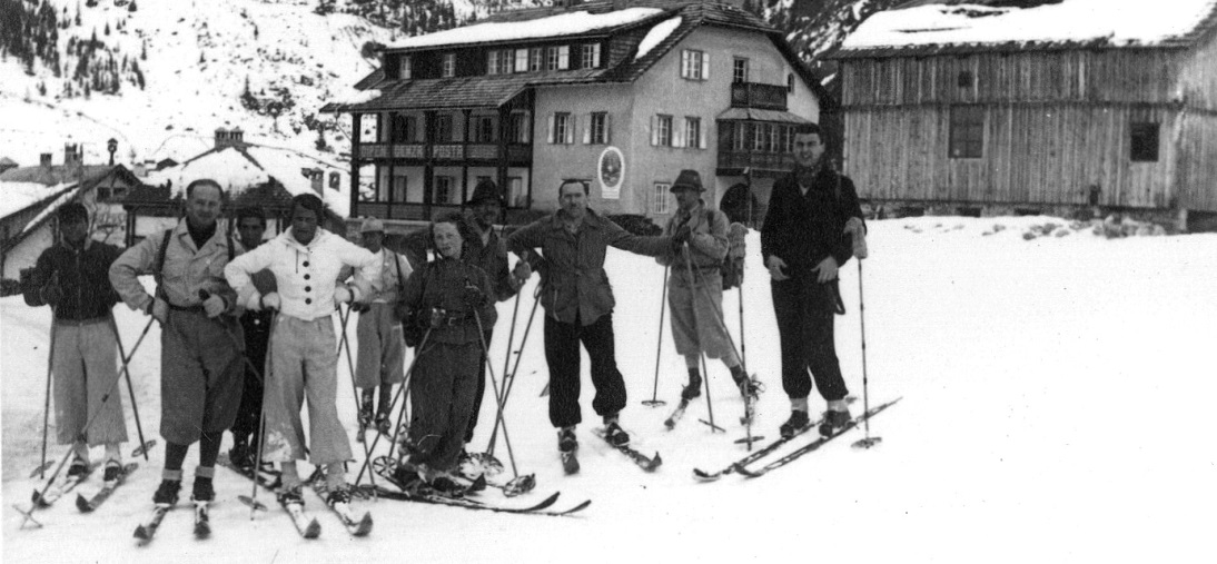 febbraio 1935 – Pordoi