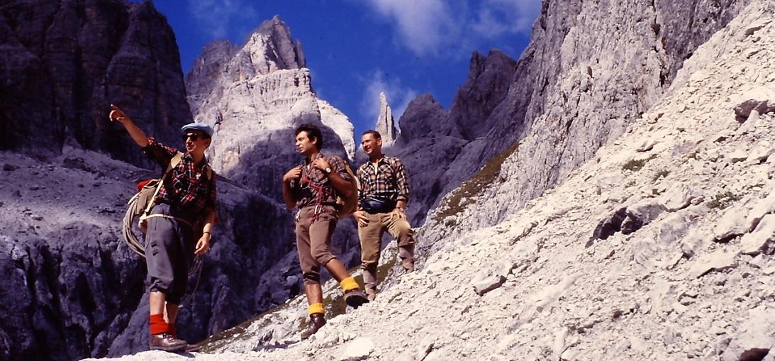 1970 Rif. Vajolet Passo delle Scalette