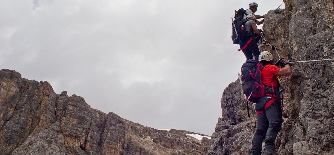 2019 Ferrata Brigata Alpina Col dei Bos